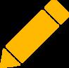 Pencil in Crossroads Gold