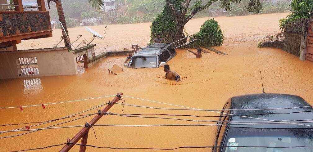 Flooding in Sierra Leone: Crossroads Staff, Volunteers Safe