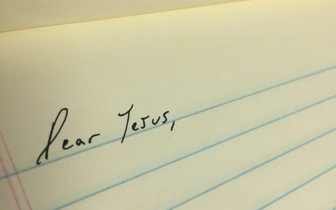 A Prisoner's Letter to Jesus