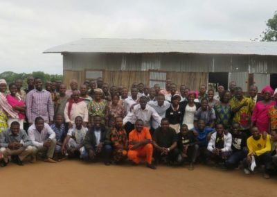 Church in partnership with Crossroads Benin