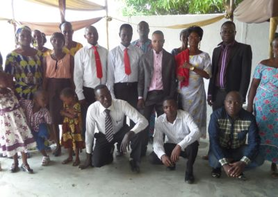 Crossroads Benin Students
