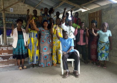 New Crossroads Benin Students
