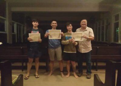Breakthrough Missions Singapore Student Graduation