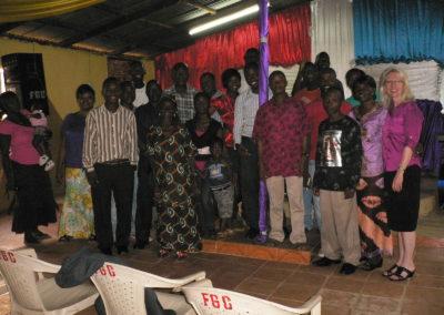 Crossroads Sierra Leone Launch Group