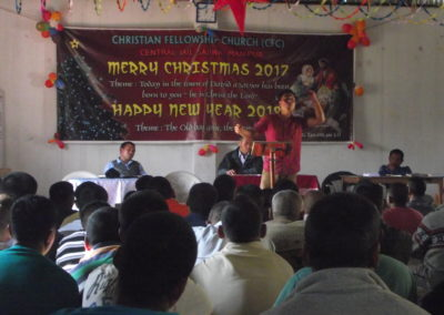 Christmas Service at Sajiwa Central Jail