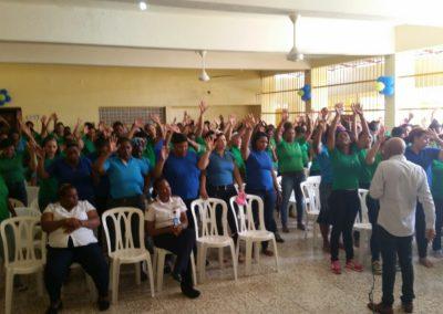 Inmates at Najayo Mujeres Prison
