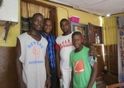 Director Lahai Welcomes Students into Home
