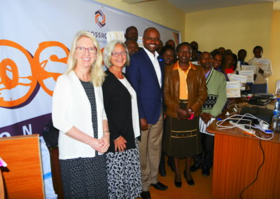 Lisa and Cynthia with Crossroads Kenya Staff