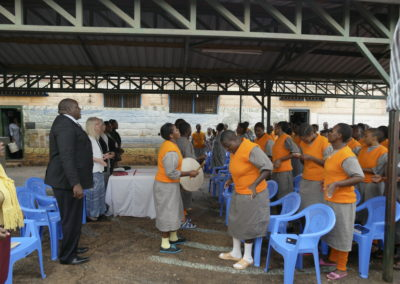Worship at Women's Prison