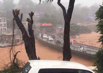 Flooding in Sierra Leone