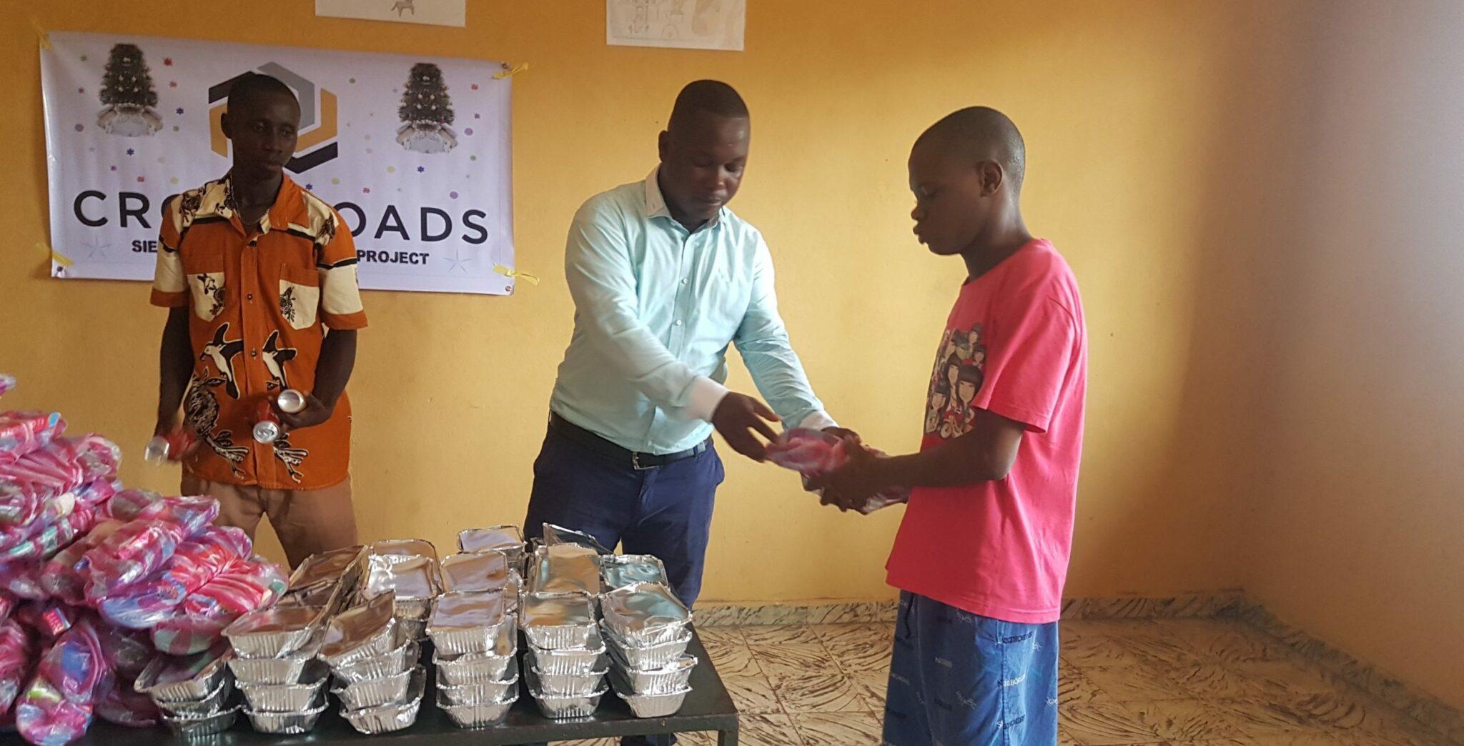 Crossroads Sierra Leone Celebrates Christmas with Children in Prison