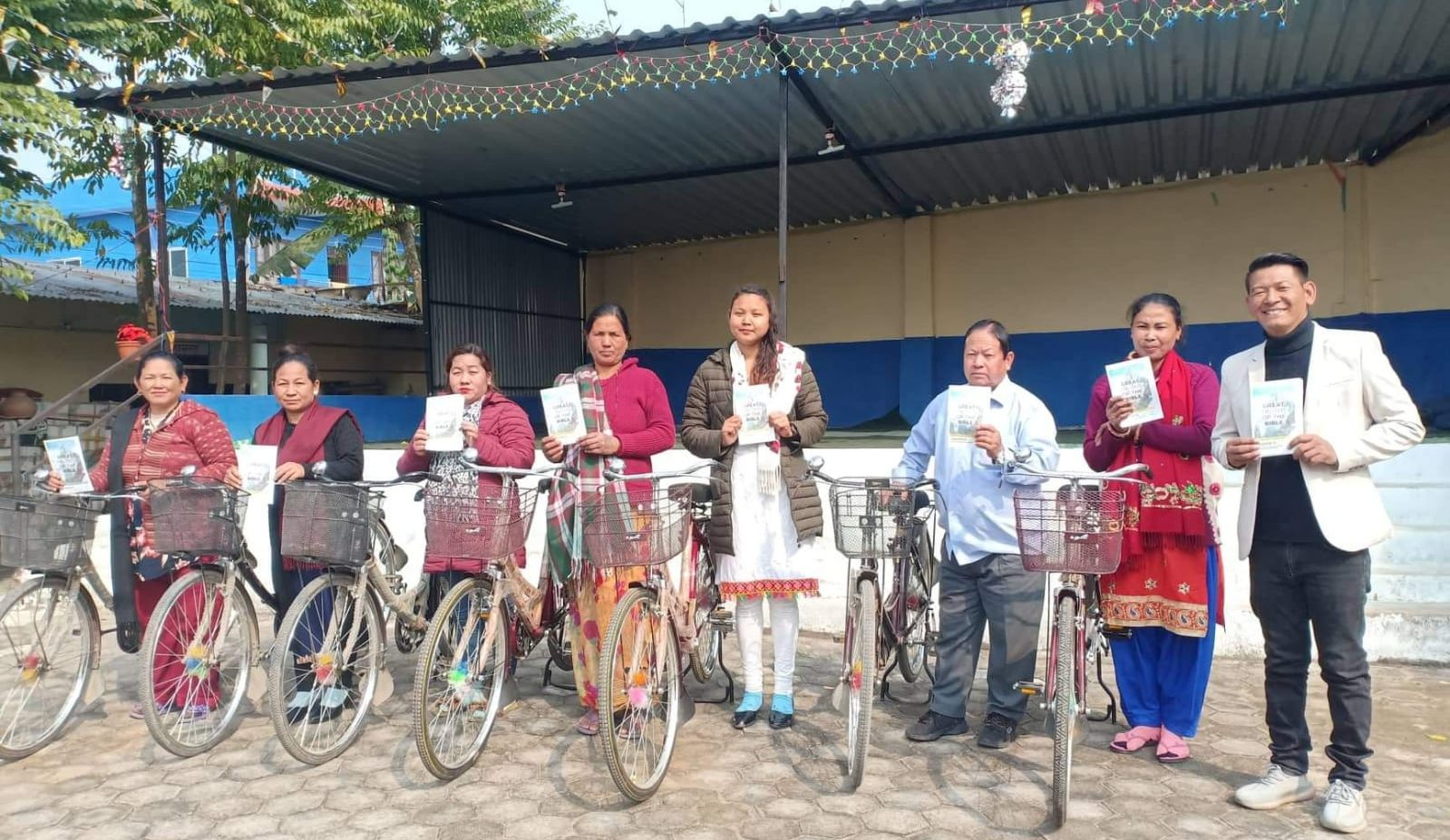 Nepal the Site of New Crossroads Extension Center